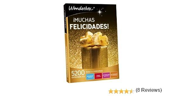 WONDERBOX Caja Regalo -¡Muchas FELICIDADES!- 5.200 Actividades ...