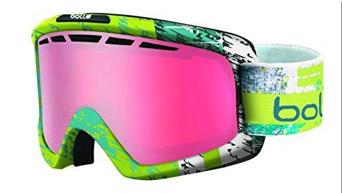 Bollé Nova Ii Masque de Ski Mixte Nova II Matte  Lime & Teal Zenith  Vermillon Gun