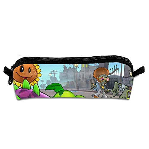 MAOHONGKO Plants VS Z Zombies Pencil Case Cosmetic Bag Pen Holder Stationery Bag]()