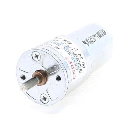 DealMux 20rpm 24VDC 4 milímetros Shaft Dia velocidade Reduzir motor engrenado