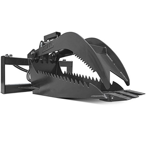 - Titan Stump Bucket Grapple Attachment Extreme Duty 1/2