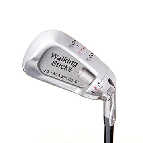 Lightest Golf Clubs for a Man or Woman – 3 Irons Replace 9 - Walk the Course With a Fraction of the Weight ! Adjustable Iron Set – Walking Sticks Golf by Walking Sticks Golf (Image #3)