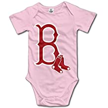 Boston Red Sox BABY Funny Short Sleeves Variety Baby Onesies Bodysuit For Babies