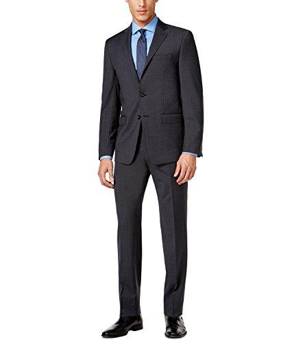 Calvin Klein Plaid Suit - 8