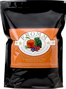 Fromm Four-Star Chicken a La Veg Dog Food, 5 lb ()