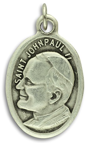 Lot of 5 - Saint John Paul II 1 Inch Medals John Paul Medal