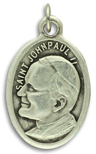 Gifts Catholic, Inc. Lot of 5 - Saint John Paul II 1 Inch Medals