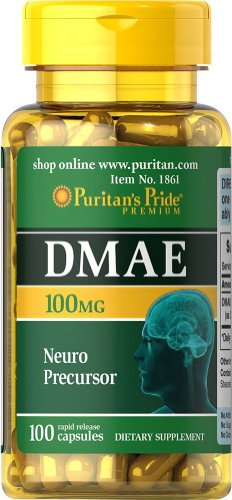 Puritan's Pride DMAE 100 mg (100 Kapseln)