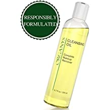 Organys Cleansing Oil & Makeup Remover Best Natural Anti Aging Gentle Daily Face Wash Deep Cleanser Reduces The Look Of Pores Acne Blackheads Breakouts For Sensitive Oily Dry Combination Skin