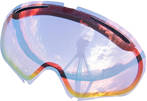 ZERO Replacement Lenses For Oakley A Frame2.0 Snow Goggle Ruby - Clear A Oakley Frame Lens