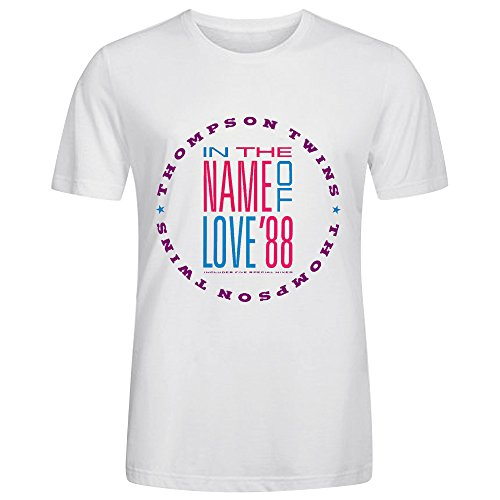 Thompson Twins In The Name Of Love 88 Men T Shirts - Phase Eight John Lewis
