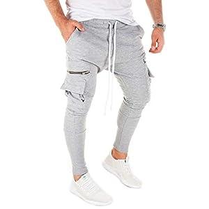 PITTMAN Cargo Track Pantalons De Survêtement Sport Homme M457