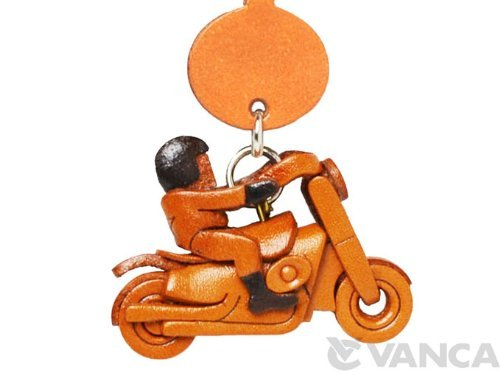 American Rider Leather Goods Earphone Jack Accessory / Dust Plug / Ear Cap / Ear Jack *VANCA* Made in Japan #47558