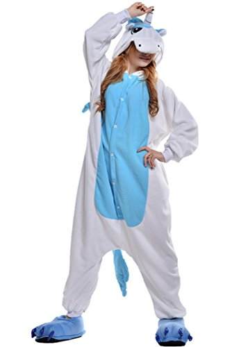 Newcosplay Warm Anime Costume Sleepsuit Adult Cosplay Dress