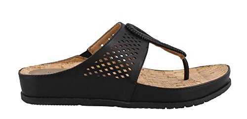 Bare Traps Womens Chinda Open Toe Casual T-Strap Sandals Black nt2bJ9
