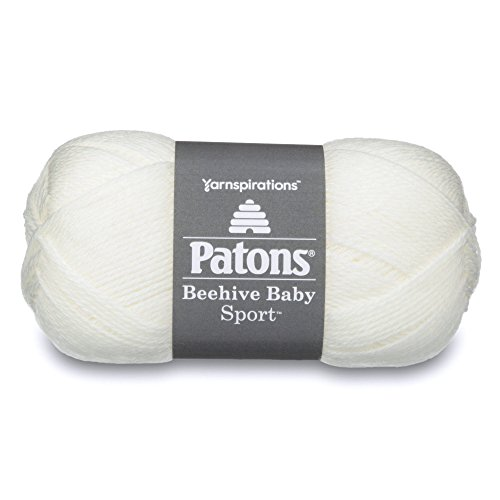 Spinrite 321383 321383 Beehive Baby Sport Yarn, Solids, Vintage Lace