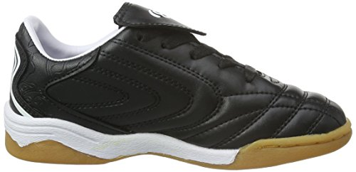 Bruetting Motion Indoor, Zapatillas de Deporte Interior Unisex Niños Negro (Schwarz/weiss)