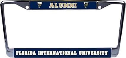 FIU Alumni Panther Logo Glossy Print Chrome Frame