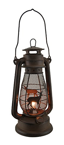 Rustic Cabin Outdoor Lighting