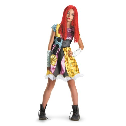 [Disguise Inc - The Nightmare Before Christmas Sally Child / Tween Costume] (Sixties Costumes Ideas)