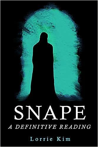 Amazon com: Snape: A Definitive Reading (9781940699134): Lorrie Kim