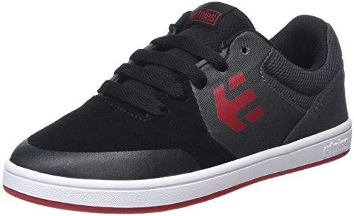 Etnies, Kids Marana, Zapatillas de Skateboard, Unisex Gris (Black/Dark Grey)