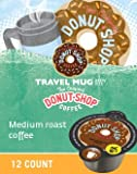 keurig vue coffee mug - The Original Donut Shop Coffee Travel Mug Size for Keurig Vue - 0.47 Ounce, 12-Count (Pack of 2)