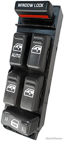 SWITCHDOCTOR Window Master Switch for 2002-2006 Toyota Camry 84820AA070 With Switch Removal Tool