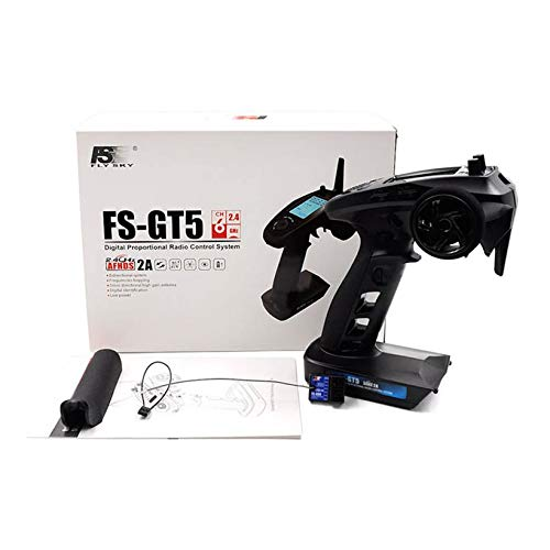 Wikiwand Flysky FS-GT5 2.4G Transmitter with FS-BS6 Receiver Built-in Gyro for RC Drone by Wikiwand (Image #8)