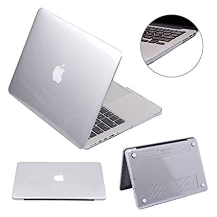 "Slim Crystal Hard Case Cover for MacBook Air 11//13/"" Pro Retina 13//15/"" White 13/"""