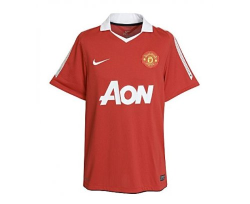 0447821ce Amazon.com  Nike Manchester United Home Short Sleeve Jersey 2010 ...