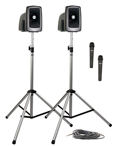 Anchor Audio MegaVox Deluxe Package 2 with Two Wireless (Megavox Dual Deluxe Package)
