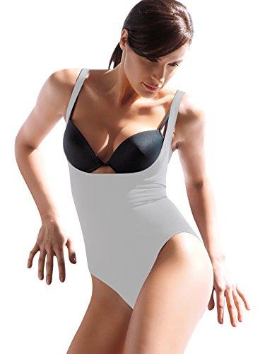 Scollo Italy in Modellante Made SENSI' Cuciture Body Bianco Senza Donna Sottoseno qnAOxwtaz8