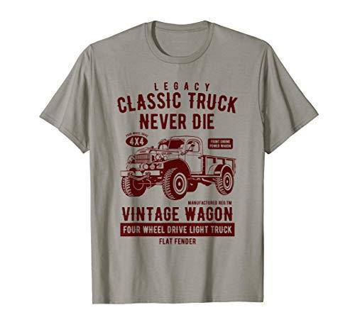 (Legacy Classic Truck Vintage Wagon T Shirt)