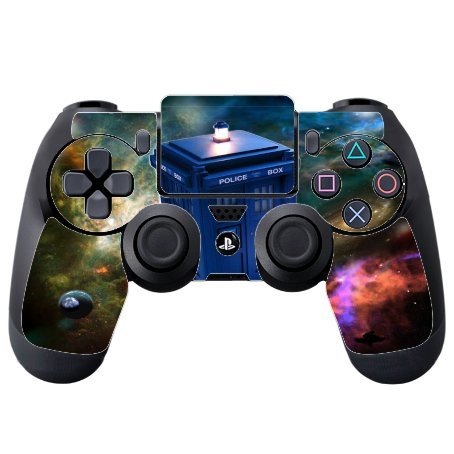 Dr Who PS4 DualShock4 Controller Vinyl Decal Sticker Skin by Compass Litho