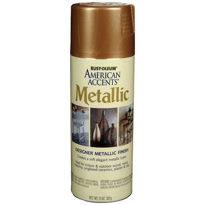 11 Oz Classic Bronze Designer Metallic Paint Kit [Set of 6] by AmericanAccents