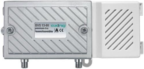 Axing Bvs 13 66 Hausanschlussverstärker Mit 30 Db Regelbar Rückkanal