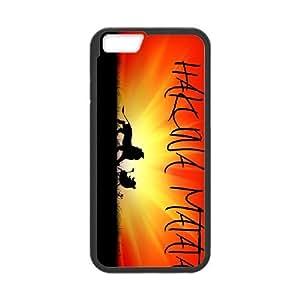 Unique Phone Case Design 3Hakuna Matata Quotes - No Worries - For Apple Iphone 6 Plus 5.5 inch screen Cases
