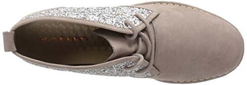 Glitter Ankle Catelyn Bootie Cam Women's Hush Taupe Dark Puppies 8wqgnf