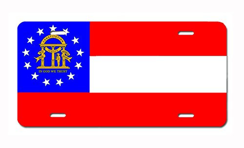 t Plate License / Vanity Plate – Made in the U.S.A. (Georgia) (Georgia Custom License Plate)