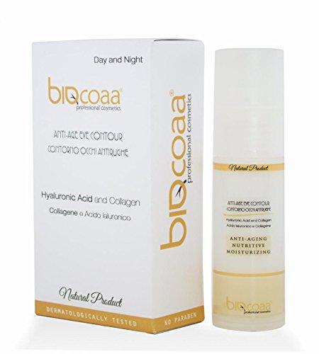 El Mejor crema Anti-Edad contorno de ojos - natural - 30 ml - aprieta