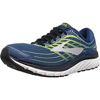 Brooks Men's Glycerin? 15 Black/Electric Brooks Blue/Green Gecko Running Shoes