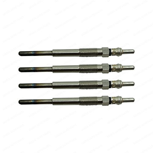 Bross BGP29-1 4 Pieces Heater Glow Plugs GX4098, 596099, GN063 for Ford Citroen Peugeot Jaguar 2.2 by Bross Auto Parts