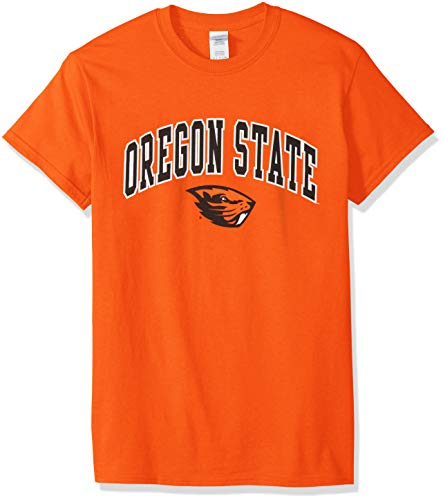 premium selection 24e18 3621c Elite Fan Shop NCAA Men s Oregon State Beavers T Shirt Team Color Arch  Oregon State Beavers