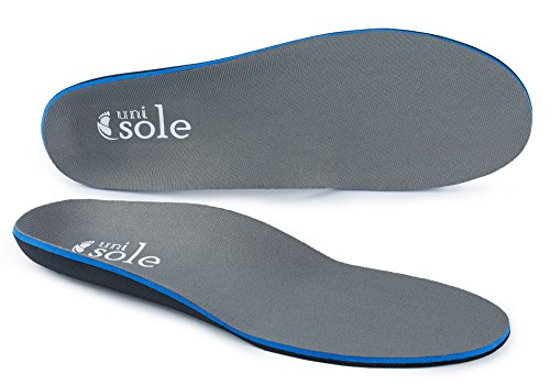Unisole Insoles Arch Support Shoe Insert - Replace Your Shoe Inserts With Our Arch Support Insoles In Mens Or Womens Shoes For Insoles For Plantar Fasciitis Support. M10-10.5/W12-12.5 - 1/2' Heel Knee High Boot