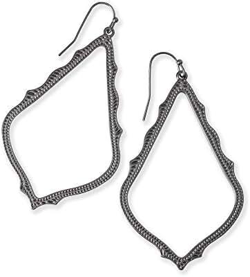 Kendra Scott Gunmetal Sophee Drop Earring