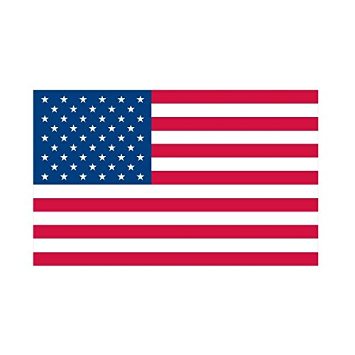 USA Flag Return Address Labels