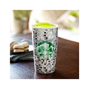 Starbucks Double Wall Ceramic Traveler - Rodarte, 12 fl oz