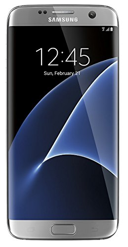 Samsung Galaxy S7 Edge Verizon Wireless CDMA 4G LTE Smartphone w/ 12MP Camera and Infinity Screen - Silver