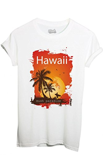 T-Shirt HAWAII PARADISO MUSH - MUSH by MUSH Dress Your Style
